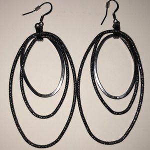 Guess Earrings Metal Black